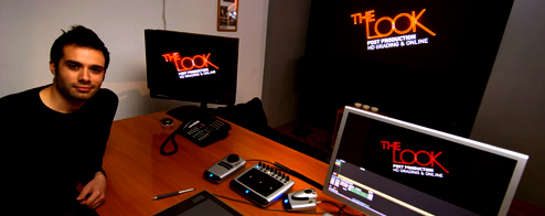 Thomas Urbye in The Look's grading & HD online suite